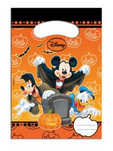 Procos Dárková party taška - Mickey Halloween 6 ks