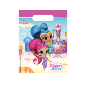 Procos Dárková party taška - Shimmer and Shine 6 ks