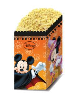 Procos Dekorativní boxy na popcorn - Mickey Halloween 4 ks