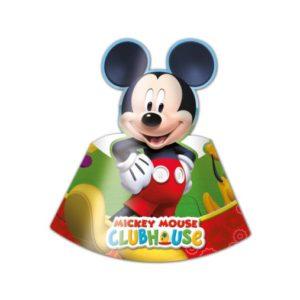 Procos Kloboučky Mickey Mouse 6 ks