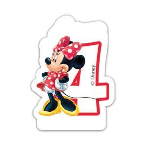 Procos Narozeninová svíčka Minnie Mouse - číslo 4