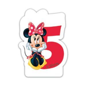 Procos Narozeninová svíčka Minnie Mouse - číslo 5