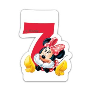 Procos Narozeninová svíčka Minnie Mouse - číslo 7