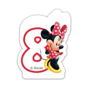 Procos Narozeninová svíčka Minnie Mouse - číslo 8