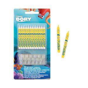 Procos Narozeninové svíčky Hledá se Dory 12 ks