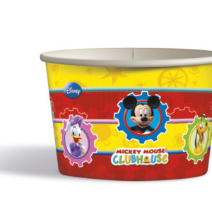 Procos Papírové košíčky Mickey Mouse 8 ks