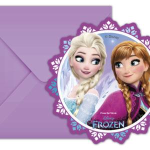 Procos Pozvánky Frozen - Květ 6 ks