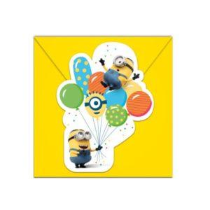 Procos Pozvánky Mimoni párty 6 ks