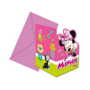 Procos Pozvánky Minnie Mouse 6 ks