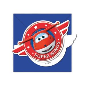 Procos Pozvánky Super Wings 6 ks