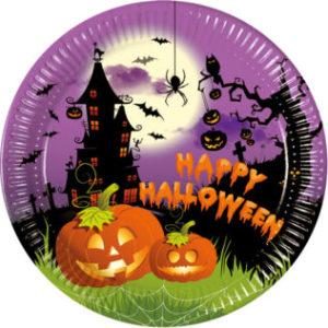 Procos Talíře Happy Spooky Halloween 8 ks