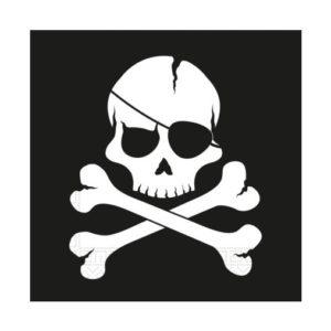 Procos Ubrousky Černí piráti 20 ks