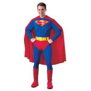 Rubies Kostým Superman Deluxe Velikost - dospělý: L