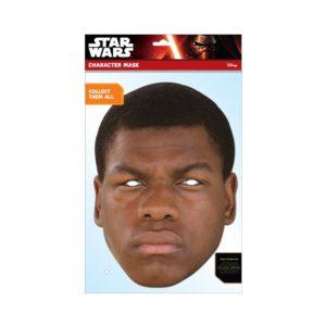 Rubies Papírová maska Finn (Star Wars)