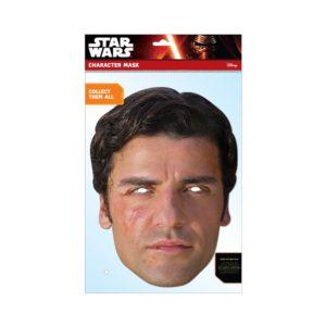 Rubies Papírová maska Poe (Star Wars)