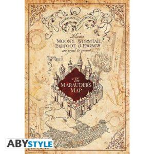 ABY style Plakát Harry Potter - Mapa záškodníků