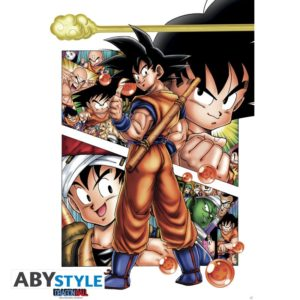 ABY style Plakát - Son Goku