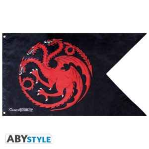 ABY style Vlajka Game of Thrones - Targaryen