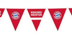 Amscan Banner FC Bayern Mnichov