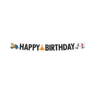 Amscan Banner Happy Birthday - Silniční provoz