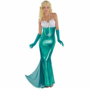 Amscan Dámský kostým - Sexy Mořská panna Velikost - dospělý: L