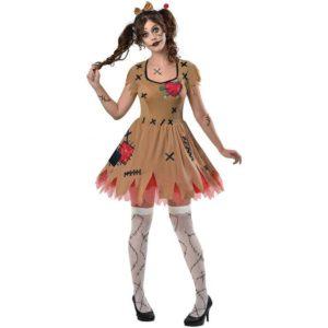 Amscan Dámský kostým - Voodoo panenka Velikost - dospělý: M