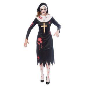 Amscan Dámský kostým - Zombie jeptiška Velikost - dospělý: L