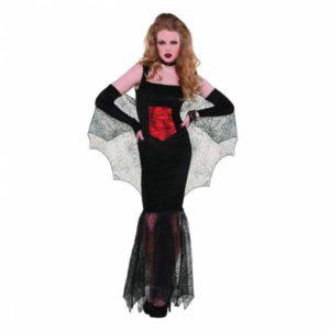 Amscan Dámský kostým - svůdná Černá vdova Velikost - dospělý: L