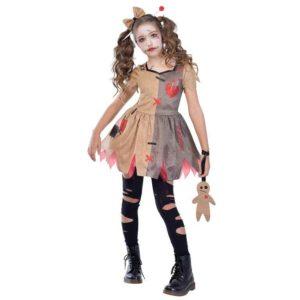 Amscan Dětský kostým - Voodoo slečna Velikost - děti: S/M