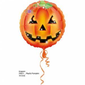 Amscan Fóliový balón - Halloweenská dýně