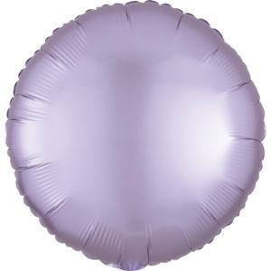 Amscan Fóliový balónek kruh satén - Světle fialový