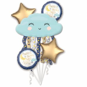 Amscan Kytice balónů Star
