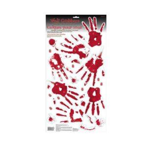 Amscan Nástěnné krvavé otisky prstů a rukou