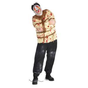 Amscan Pánsky kostým - Psycho muž Velikost - dospělý: PLUS