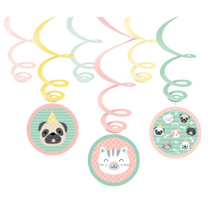 Amscan Visíci dekorace Hello Pets