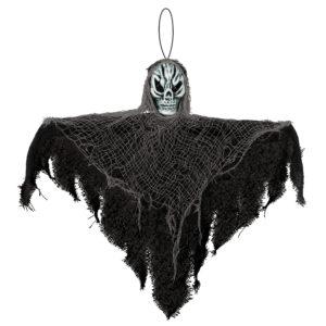 Amscan Visící dekorace černá s lebkou 35