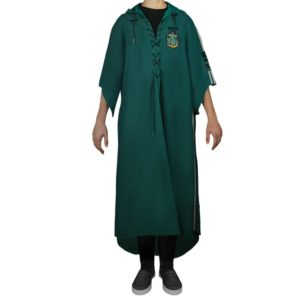 Cinereplicas Zmijozelský famfrpálový plášť - Harry Potter Velikost - dospělý: L