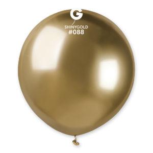 Gemar Balónek chromový zlatý 48 cm