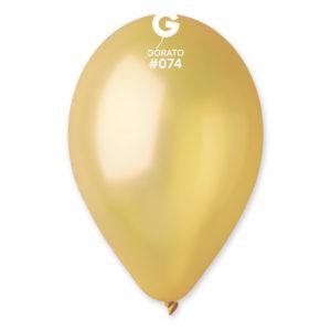 Gemar Balonek metalický bronzový 26 cm