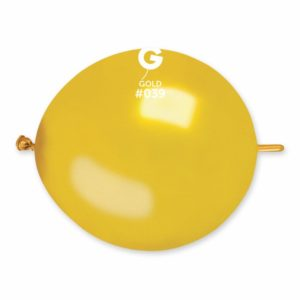 Gemar Spojovací balónek zlatý 30 cm