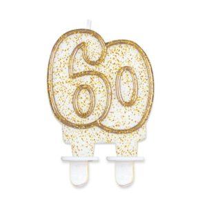Godan Dortová svíčka 60 - zlatá