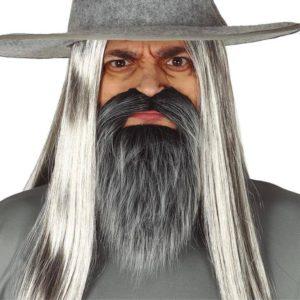 Guirca Brada s knírkem černošedá (Gandalf)