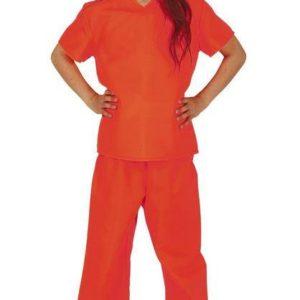 Guirca Dětský kostým - Dětský vězeň Velikost - děti: XL