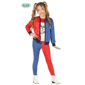 Guirca Dětský kostým - Harley Quinn teeneger Velikost - děti: 14 - 16 Let