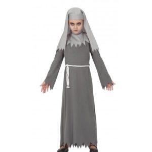 Guirca Dětský kostým - Jeptiška Annabelle šedý Velikost - děti: XL