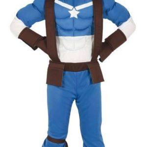 Guirca Dětský kostým - Kapitán Amerika Velikost - děti: XL