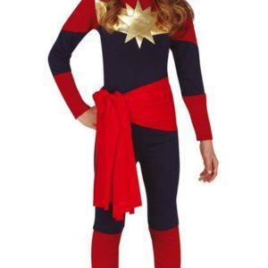 Guirca Dětský kostým - Kapitán Marvel Velikost - děti: M