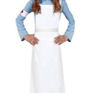 Guirca Dětský kostým - Sestřička z druhé světové války Velikost - děti: XL