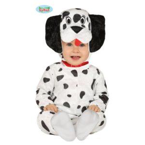 Guirca Dětský kostým pro nejmenší - 101 dalmatinů Velikost nejmenší: 6 - 12 měsíců