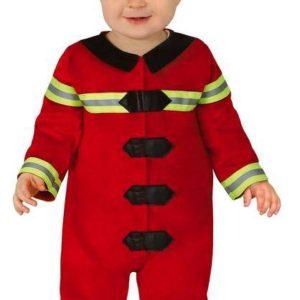 Guirca Dětský kostým pro nejmenší - Hasič Velikost nejmenší: 6 - 12 měsíců